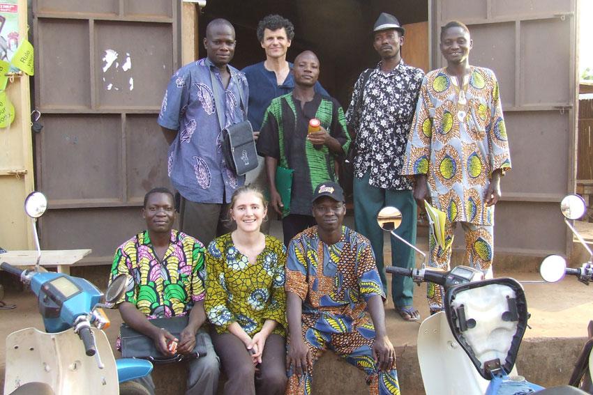 Fermes du Monde : les échanges au Bénin
